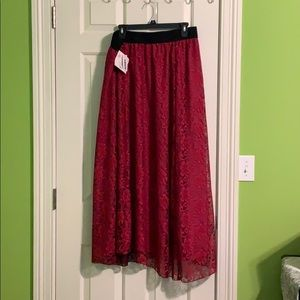 Lularoe burgundy Lucy size 2XL